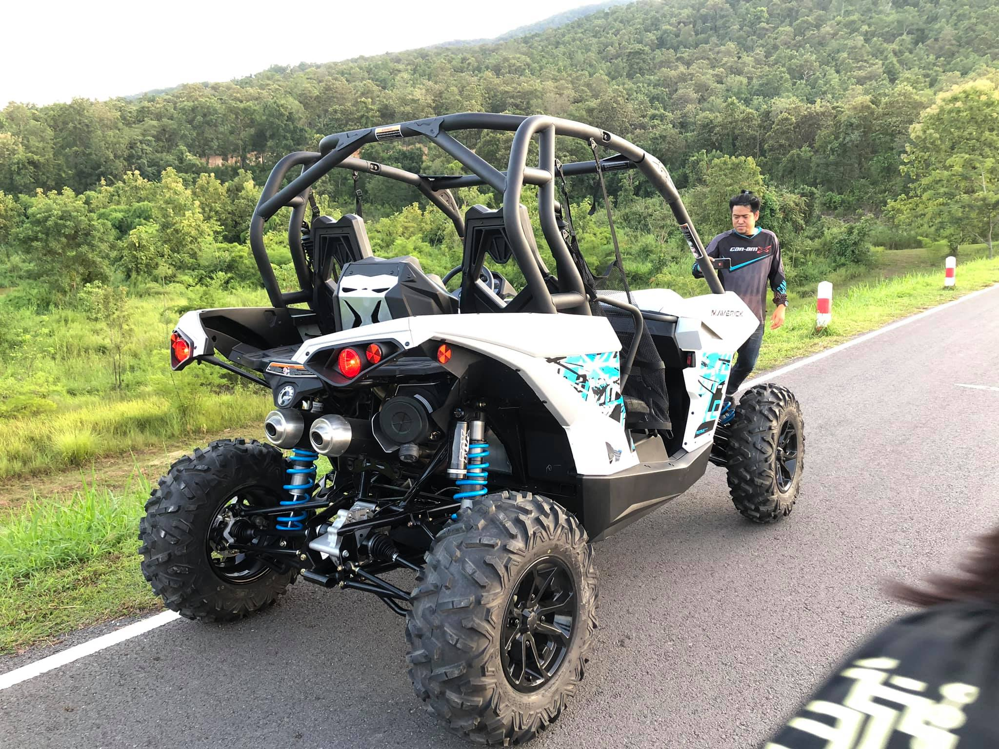 ขับ ATV และ UTV ที่ Spantan Motorsport เชียงใหม่